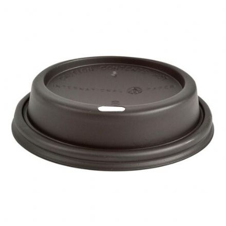 Sip Lids for 8oz Paper Cups - Black